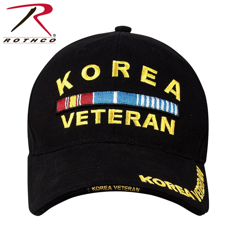 Gorra Korea Veteran Negra Rothco – Commander  c4a606a782d